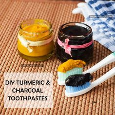 BEAUTY DIY: 2 DIY HOMEMADE TOOTHPASTE RECIPES