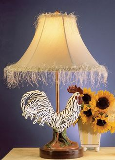 Little Rooster Lamp | Decor ~ Lighting | Pinterest | Roosters ...