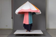 A personal hut workshop at Academy of Art Berlin Weissensee by Raw Color