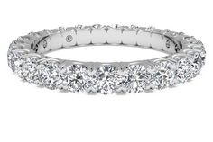 Women's Shared-Prong Diamond Wedding Band - in 14kt White Gold (1.25 CTW) | Ritani
