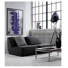 Cove Armless Loveseat & Chair - Contemporary sofa or sectional