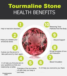 Tourmaline stone is a semi-precious mineral similar to granite. With blue, green blue, vivid yellow and even black colors from Magenta, tourmaline takes Tourmaline Meaning, Blue Tourmaline, Tourmaline Stone, Watermelon Tourmaline, Tourmaline Jewelry, Crystal Magic, Crystal Healing Stones, Crystals And Gemstones, Stones And Crystals