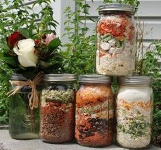 Thrive meal-in-a-jar recipes #food #recipes