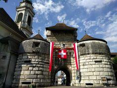 The impressive Baseltor in Solothurn (Switzerland) http://ift.tt/2FEFf7H