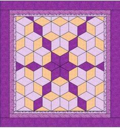 Very Large Block Quilt Patterns | Lone Star quilt pattern? – Quilting Board