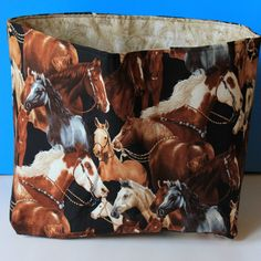 Beautiful horse print tote bag by GypsyGirlCreations21 on Etsy