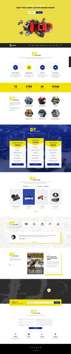 Checkout Carle - Wordpresstheeme# for Car Service and Shop: