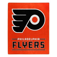 NHL Philadelphia Flyers 30 x 60 inch Towel and 4 x 4 inch Perfect Cut Decal SET