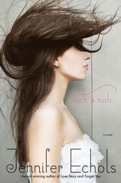 Such A Rush, by Jennifer Echols. I think that the YAs of today include a broader range of role models for girls, than they did when I was a teenager. This is one of those - I don't remember ever reading a book with a girl pilot. I also liked that there was such a drive to work up out of current circumstances.