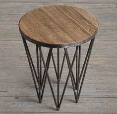 """18"""" Tribeca Round Side Table"""
