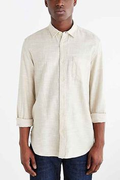 feb064188c8b9 Koto Long-Sleeve Slub Desert Button-Down Shirt