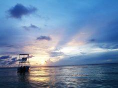 Sunset, Roatan