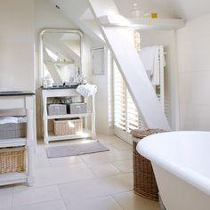 Saubere weiße Badezimmer Wohnideen Badezimmer Living Ideas Bathroom