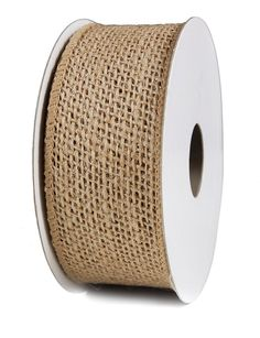 Burlap Ribbon 2.5'X10Y Natural Wired * Insider's special review you can't miss. Read more  : Wrapping Ideas