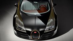 """Nothing turns heads quite like a Bugatti, and the ultra-limited-edition """"Black Bess"""" version—the fifth in Bugatti's Legends series—is sure to knock a valet's socks off. Built from…"""