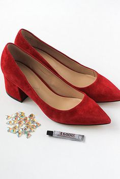 8cb45f89938 Match your heels with your (invisible) iridescent horn.