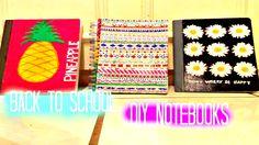 Back to school: DIY Notebooks ❤❤