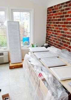 How To Paint Your Cabinets (aka: Hallelujah!) | Young House Love