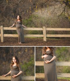 Beautiful Outdoor Maternity Session