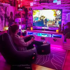 100 Gaming Room Inspiration Ideas In 2021 Led Lights Lights Game Room