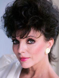 Joan Collins...iconic eye makeup looks