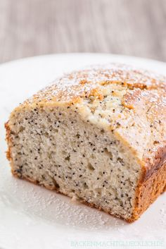 Backen macht glücklich | Backen ohne Fructose: Zitronenkuchen mit Reissirup | http://www.backenmachtgluecklich.de