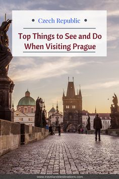 An article on some of the top things to see and do when visiting Prague in the Czech Republic. From landmarks, viewpoints and lots more. #prague #czechrepublic #europe #travel #travelideas #inspiration #explore #placestovisit #beautifuldestinations #destinationguide #traveltips #travelinspiration #vacation #holiday #Natgeotravel #Traveltheworld #bucketlists