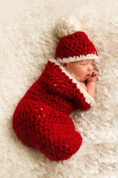 cute :) -- need someone to make me a stocking and cap like this :)