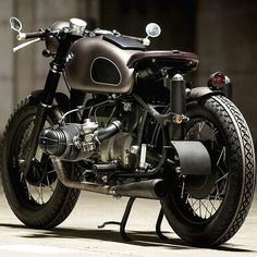 """combustible-contraptions: """" BMW Cafe Brat 