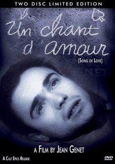 Un Chant d'Amour / A Song of Love (1950) - the only film of writer Jean Genet, Un Chant d'Amour went all the way to the Supreme Court, and in 1966 the highest court upheld a ban on this film explaining simply that it was obscene. Complaints: homosexuality, sadism, masochism, nudity, voyeurism, masturbation, oral sex, anal sex