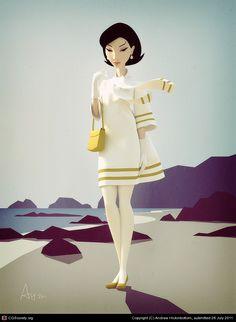 Yukiko by Andrew Hickinbottom   3D   CGSociety