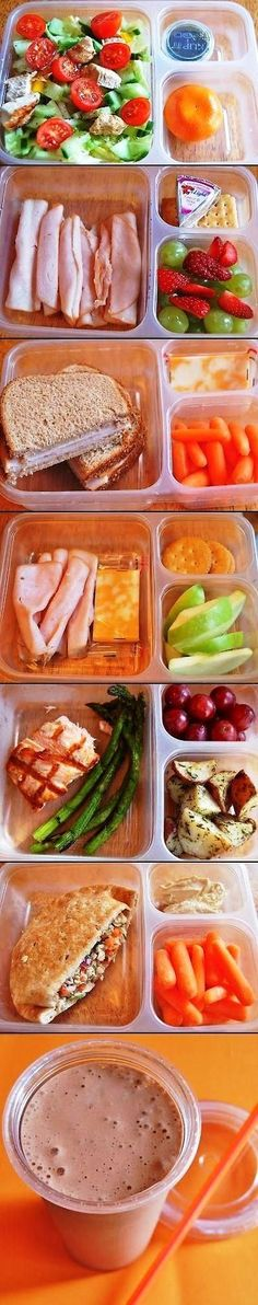Lunch to take to work and campus. The Lazy   Trainer