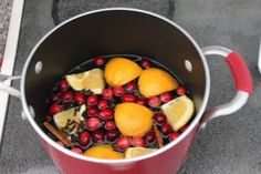 Create Homemade Air Freshener With Stove Top Potpourri