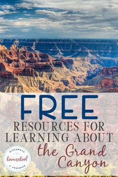 FREE Resources for Learning About the Grand Canyon - Homeschool Giveaways Are you wanting to learn more about the Grand Canyon? Check out these awesome FREE learning resources! Social Studies Notebook, Teaching Social Studies, Teaching Geography, World Geography, History Education, Teaching History, National Geographic Videos, Fire Prevention Week, American History Lessons
