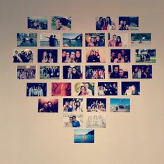 Heart Photo Wall <3