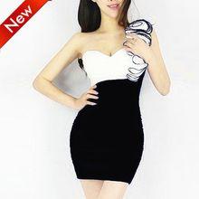 2014 New Fashion Women Summer dress Slim Tunic Solid Dresses Sexy Dress Vestido Festa & Vestido Curto Free shipping(China (Mainland))