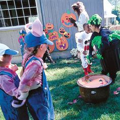 Mix and Match Pumpkin Patch Game for a Halloween Party