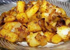 Yumm-Recipes | Portuguese Style Sauteed Potatoes