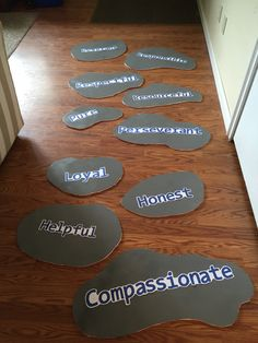 Stepping stones for my AHG awards ceremony Activities For Girls, Crafts For Girls, Diy For Girls, Kumon, Girl Scout Bridging, 25th Birthday Parties, American Heritage Girls, Girl Scout Leader, Girl Scout Crafts