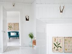crisp white room
