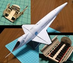2001 - Orion model with internal detail by UHU - Papercraft
