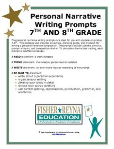 Released Writing Prompts for State Testing