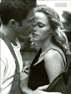 never alone bruce weber vogue italia september 1997 editorial 1 Couple Posing, Couple Shoot, Couple Portraits, Couple Photography, Photography Poses, Rachel Roberts, Where Are We Now, Bruce Weber, Couples In Love