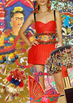 #Frida fashion inspiration from P.S.- I made this...