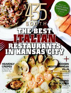 November Issue - Best Italian restaurants in Kansas City