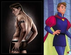 Disney Pin Up Princes: Prince Philip from Sleeping Beauty