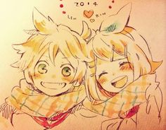 Vocaloid -Kagamine Rin & Len