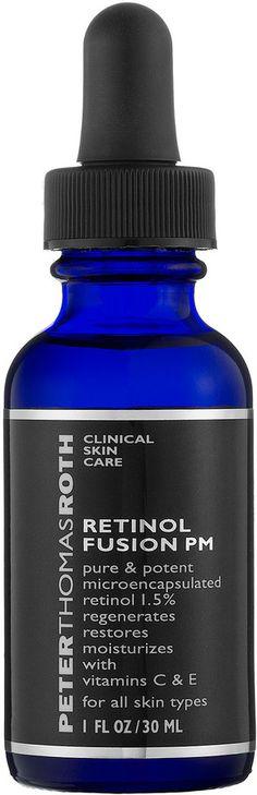 6 Pack - Peter Thomas Roth Retinol Fusion PM Night Serum 1 oz Dr. Lip Bangs Lip Freak 0.15 Oz. - Sin-O-Mint