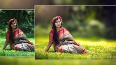 Photoshop Tutorial : How To Edit Outdoor Portrait ( Blur Background and ...