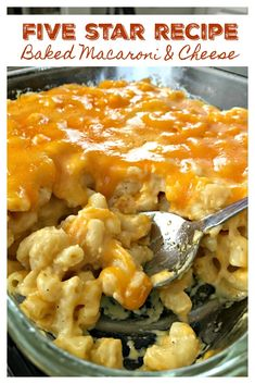 --- advertisements --- --- advertisements --- This is sure to be a hit during the holidays, but a dish you'll want to make year round! Full recipe below. Baked Macaroni & Cheese – Five Star Recipe --- advertisements --- Best Mac N Cheese Recipe, Baked Mac And Cheese Recipe Soul Food, Baked Cheese, Oven Mac And Cheese, Cheesy Mac And Cheese, Cheddar Cheese, Easy Southern Mac And Cheese Recipe, Longhorn Mac And Cheese Recipe, Creamy Mac And Cheese Recipe Velveeta
